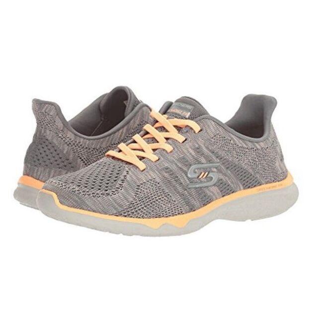 Skechers 23388 Women's Studio Burst Edgy Air Cooled Memory Form Sneaker
