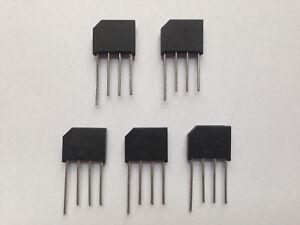 5pcs KBL406 Brückendiodengleichrichter 800V 4A KBL 406