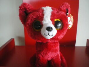 Ty Beanie Boos Tomato the Dog. 6 inch NWMT. IN STOCK NOW.