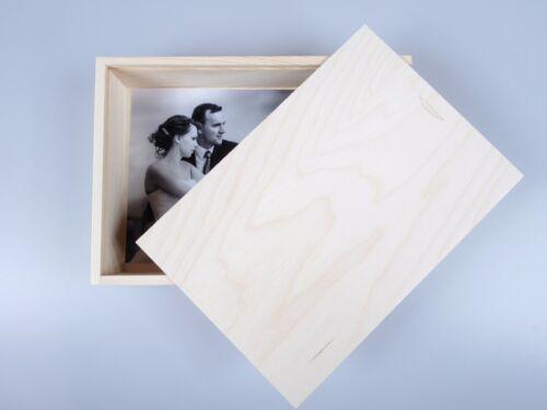 Holz Kiste Holzbox Bilder 15cmx21cm Descoupage Dekoration