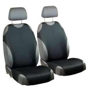 Siège-auto Housses Renault Clio universel 1+1 sièges avant NOIR Sitzbezüge voiture