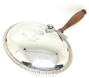 Vintage Sheffield Silver Silent Butler Crumb Catcher EPC 268 Silverplate