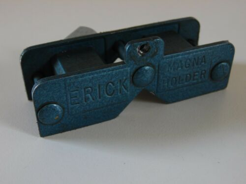 Erick Magna Magnetic Dial Indicator Holder Base Stand Machinist Tool Used USA