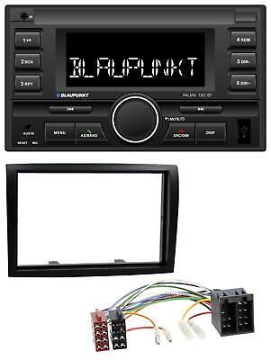 Peugeot Boxer ab 06 Doppel 2 DIN Set Autoradio Radio KFZ CAR Radioblende schwarz