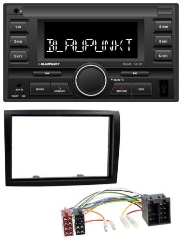 Blaupunkt mp3 USB 2din Bluetooth aux radio del coche para Fiat Ducato Citroen Jumper PE