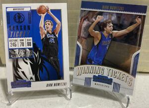 2018-19-Dirk-Nowitzki-Panini-Contenders-Card-2-Card-Lot-Dallas-Mavericks