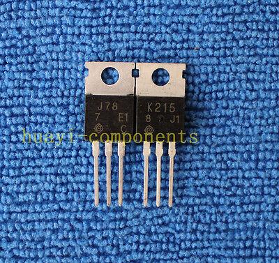 10pairs 2SJ77//2SK214 J77//K214 Transistor HITACHI TO-220