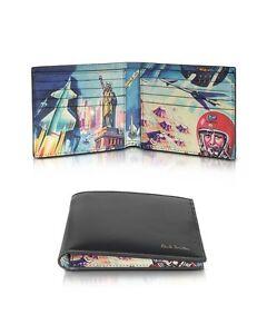 PAUL-SMITH-Crayon-Box-Space-NASA-039-Apollo-11-50th-Anniversary-039-Billfold-Wallet