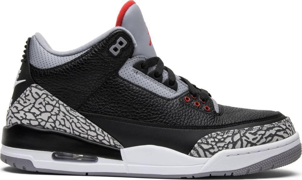 Nike Air Jordan 3 Black Cement Retro III OG MENs Authentic 854262-001 lot
