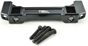 Treal-Traxxas-TRX-4-Black-Aluminum-Front-Bumper-Frame-Mount