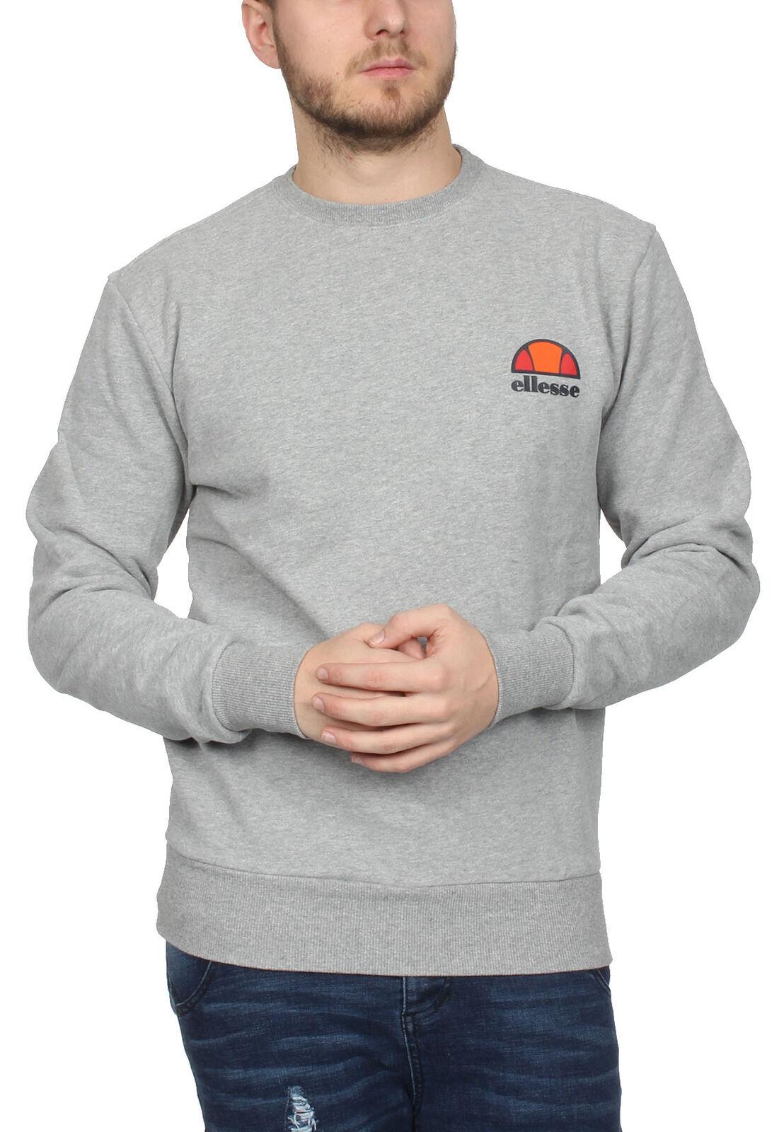 Ellesse sweater uomo Diveria Crew Sweat Grigio grigio Marl
