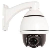 1200TVL HD 30x Zoom PTZ IR Day Night Dome CCTV Security Camera DVR RS-485 System