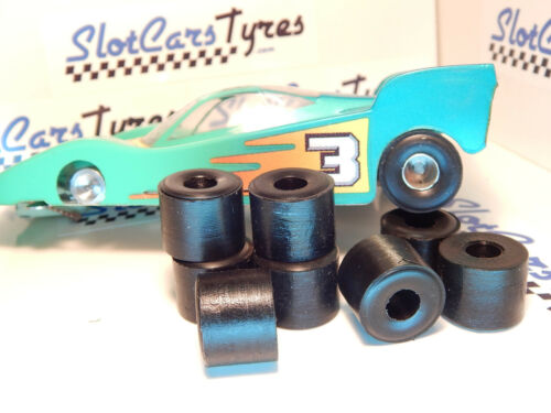 8 urethane  tires for slot Parma Flexi 1/24 (7/8 '') Us