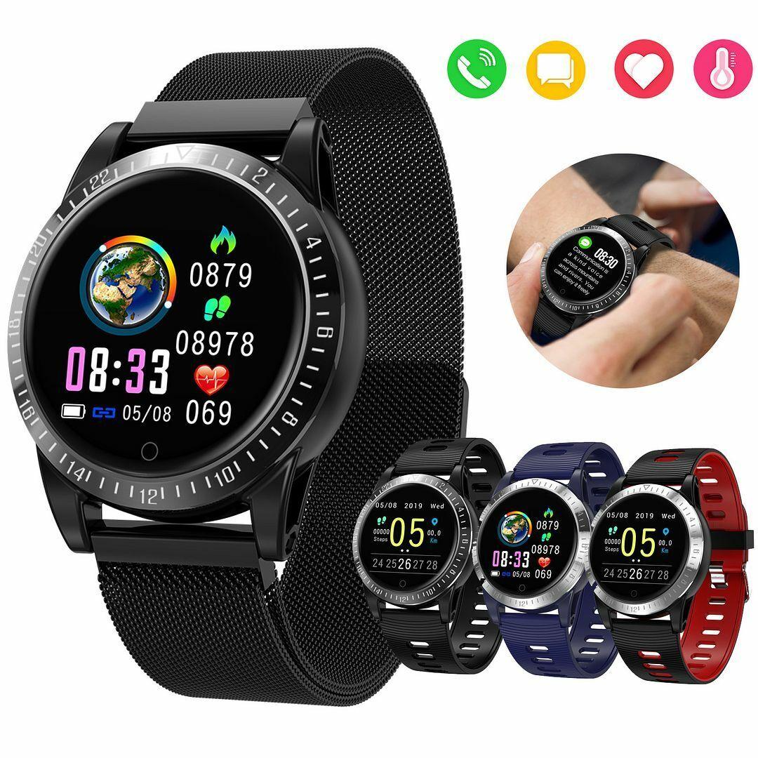 Heart Rate Blood Pressure Monitoring Smart Watch Women Men Pedometer Tracker blood heart men monitoring pedometer pressure rate smart watch women