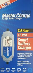 Lion Master Charge 8 Stage Smart Battery Charger [Size: 3.5 amp]