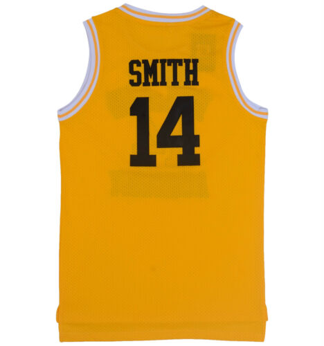 Will Smith Basketball Jersey The Fresh Prince of Bel Air Academy Movie 25# 14#