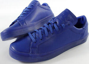 the latest a9303 4077c Image is loading ADIDAS-Originals-Court-Vantage-royal-Shoes-NEW-Adicolor-