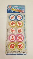 10pc 30mm Fridge Magnet Novelty Cute Fun Letters Magnets Children fun size 3cm