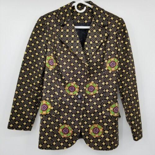 Mr. Dino Vintage Button Blazer