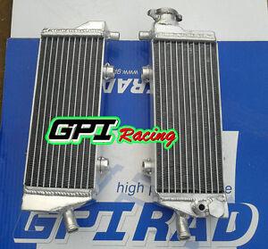 KTM SX-F SXF 250//450//505 2007-2011 07 08 09 10 2008 2009 Aluminum radiator
