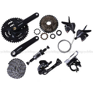 SHIMANO-Altus-M370-MTB-Groupset-Group-Set-3x9-27-speed-7pcs