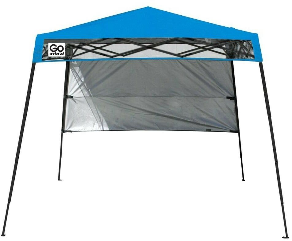 Canopy 6 ft. x 6 ft. Lightweight Collapsible in blueee with Adjustable Height