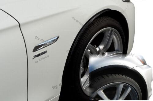 für BMW 3er tuning felgen 2x Radlauf Verbreiterung CARBON look Kotflügel Leisten