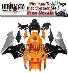 ABS-Fairings-For-Honda-CBR600RR-F5-05-06-Bodywork-Fairing-Kit-Orange-Black-Grey