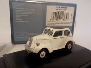 Ford-Popular-WHITE-Oxford-Diecast-1-76-New-Dublo-Railway-Scale