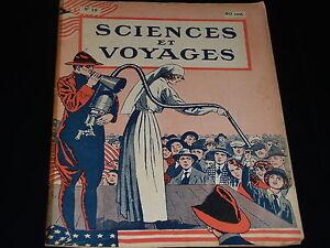 Sciences Et Voyages - N° 15 - Decembre 1919 - Le Sahara - Le Cancer Des Plantes êTre Hautement Loué Et AppréCié Par Le Public Consommateur