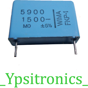 LOTx2 Folien Kondensator Polyester Capacitors 8300pF 1500V R22,5 FKP-1 WIMA-NEU