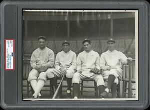Lou-Gehrig-1926-New-York-Yankees-Type-1-Original-Photo-PSA-DNA-Crystal-Clear