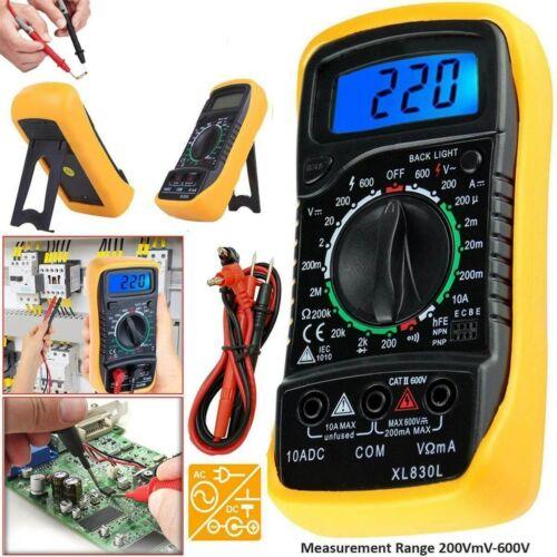 Handheld Multimeters Counts Measurement LCD Digital Multimeter Tester