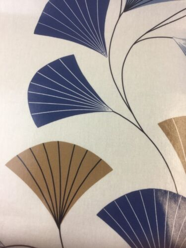 SMD Fan Peacock PVC Fabric By The Half Metre