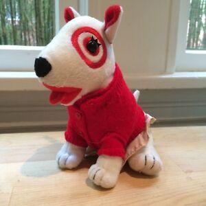 Target Red And Khaki Girl Dog Plush Stuffed Animal Bullseye Boys
