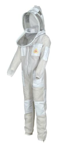 Ultra Ventilated beekeeping beekeeper Ful Suit Fancy Veil sting safety large L