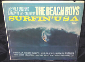 Beach Boys Surfin U S A Sealed Vinyl Record Lp Usa 1963