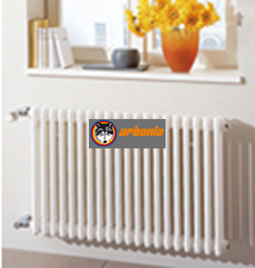 Arbonia Röhrenradiator WEISS MODELL 2060 Bauhöhe 600 seitliche ...