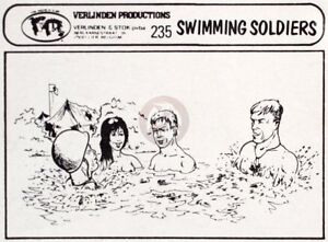 Verlinden-1-35-Swimming-Soldiers-3-US-G-I-s-with-Girl-WWII-4-Half-figures-235