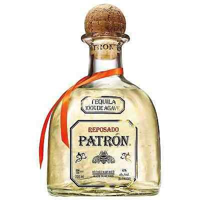 Patr&oacuten Reposado Tequila 700mL bottle