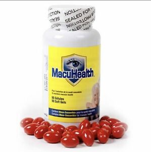 NEW-MACUHEALTH-Vitamins-MacuHealth-90-Ct-LowPrice-Enhance-Vision-Sealed-Bottle