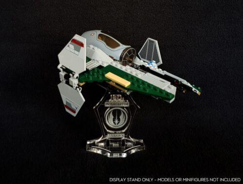 Display stand angled for Lego 9494 Anakin/'s Interceptor