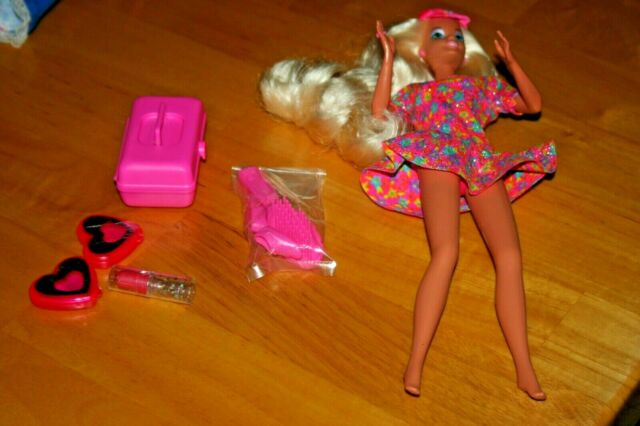 1992 Caboodles Barbie Cosmetic Doll - NO BOX - Never Played With