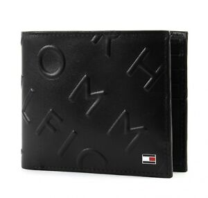 TOMMY-HILFIGER-Monedero-Deboss-CC-Wallet-Black