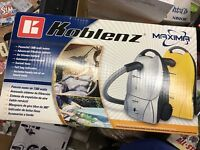 Koblenz Kc-1250 B Maxima Canister Vacuum Cleaner Cleaner Sealed