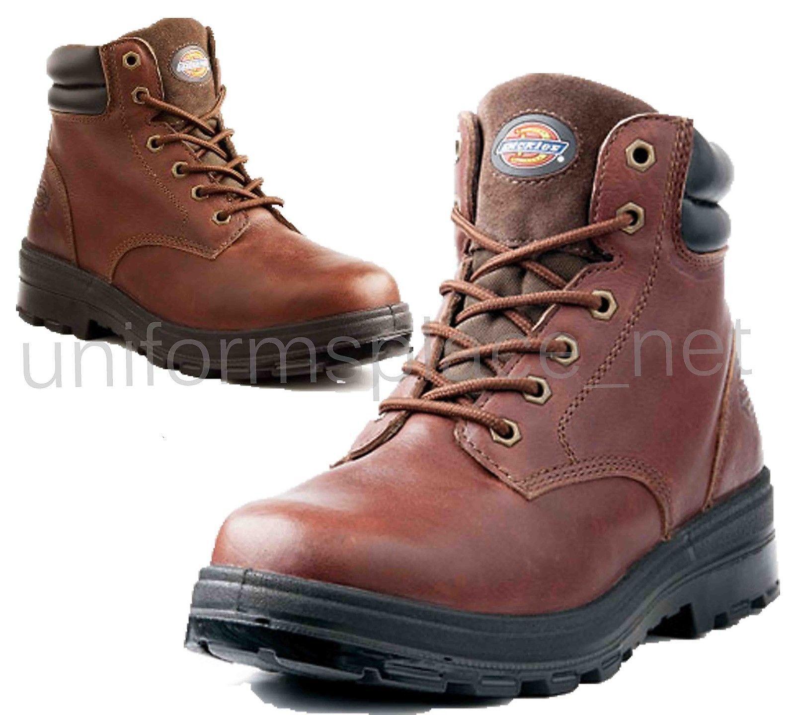 Dickies Toe Work Stivali Uomo Challenger Steel Toe Dickies EH Ox Blood oil resistant DW7522 09ec3a