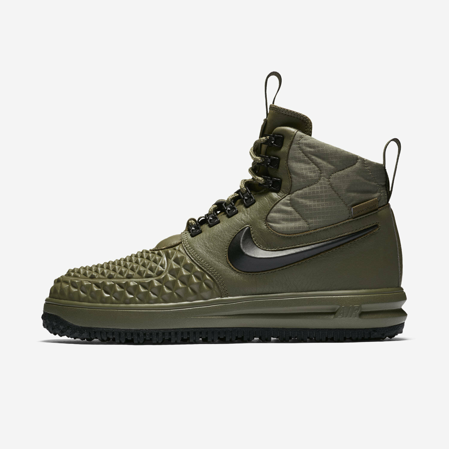 Men's Nike Lunar Force 1 Duckboot '17 - Medium Olive/Black (916682 202) Size 8
