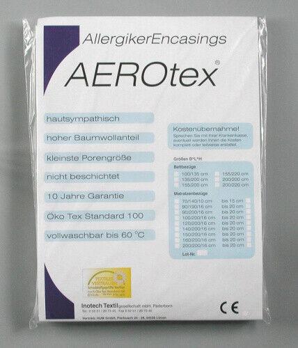 Matratzenbezug AEROtex 140/200 Höhe bis zu 20cm Matratzenschoner Auflage
