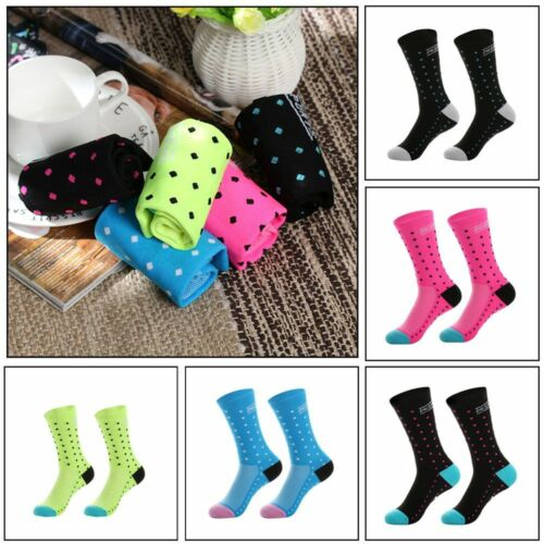 Outdoor Unisex Cycling Socks Anti-Sweat Breathable Sports Running Bicycle Socks