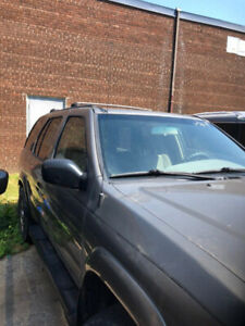 2004 NISSAN PATHFINDER/KM= 86000 HAVING BACKUP ACCIDENT REPAIRED